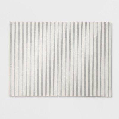 19 x14 Stripe Placemat Off White - Threshold™