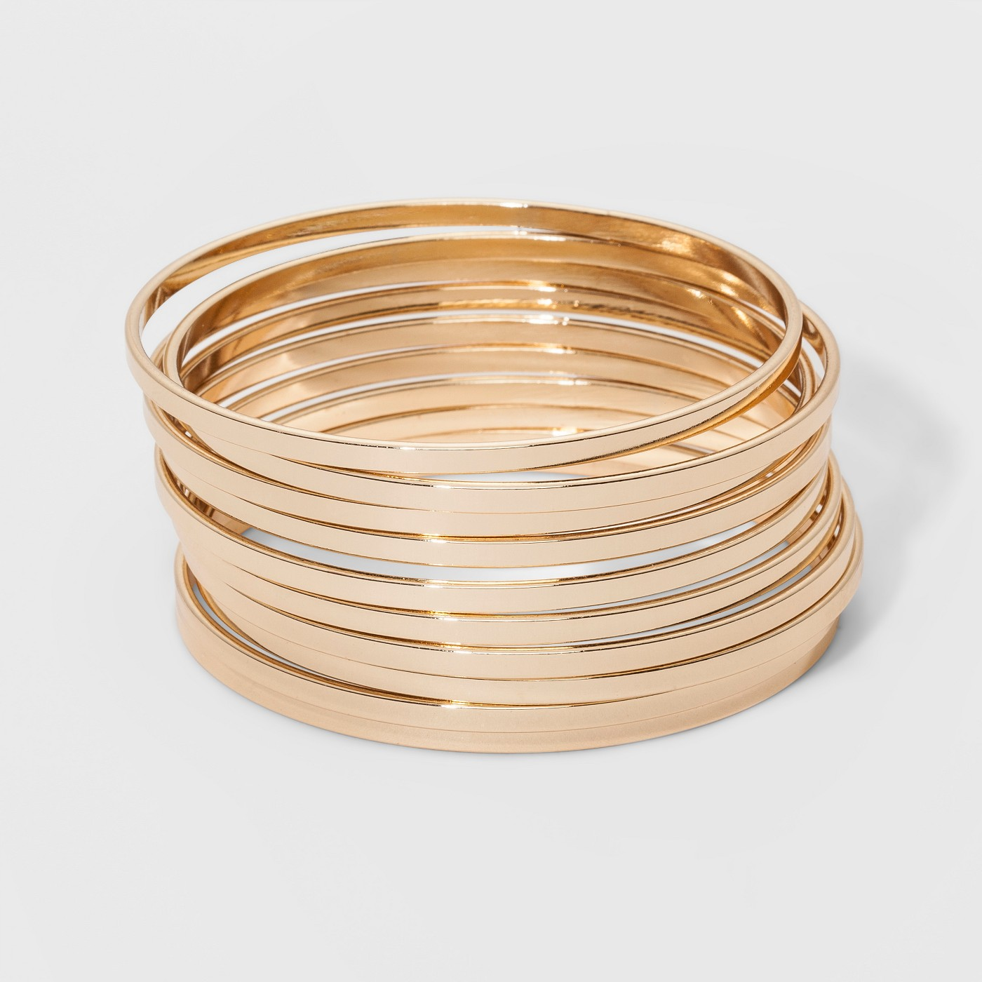 Bangle Bracelet 10pc - A New Day™ Gold - image 1 of 1