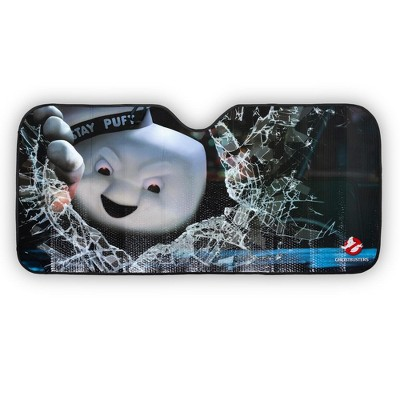 Just Funky Ghostbusters Angry Stay Puft Marshmallow Man Car Sunshade | 58 x 27.5 Inches