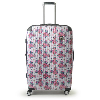"""FUL Disney Minnie Mouse Printed 29"""" Hardside Rolling Suitcase - Floral"""