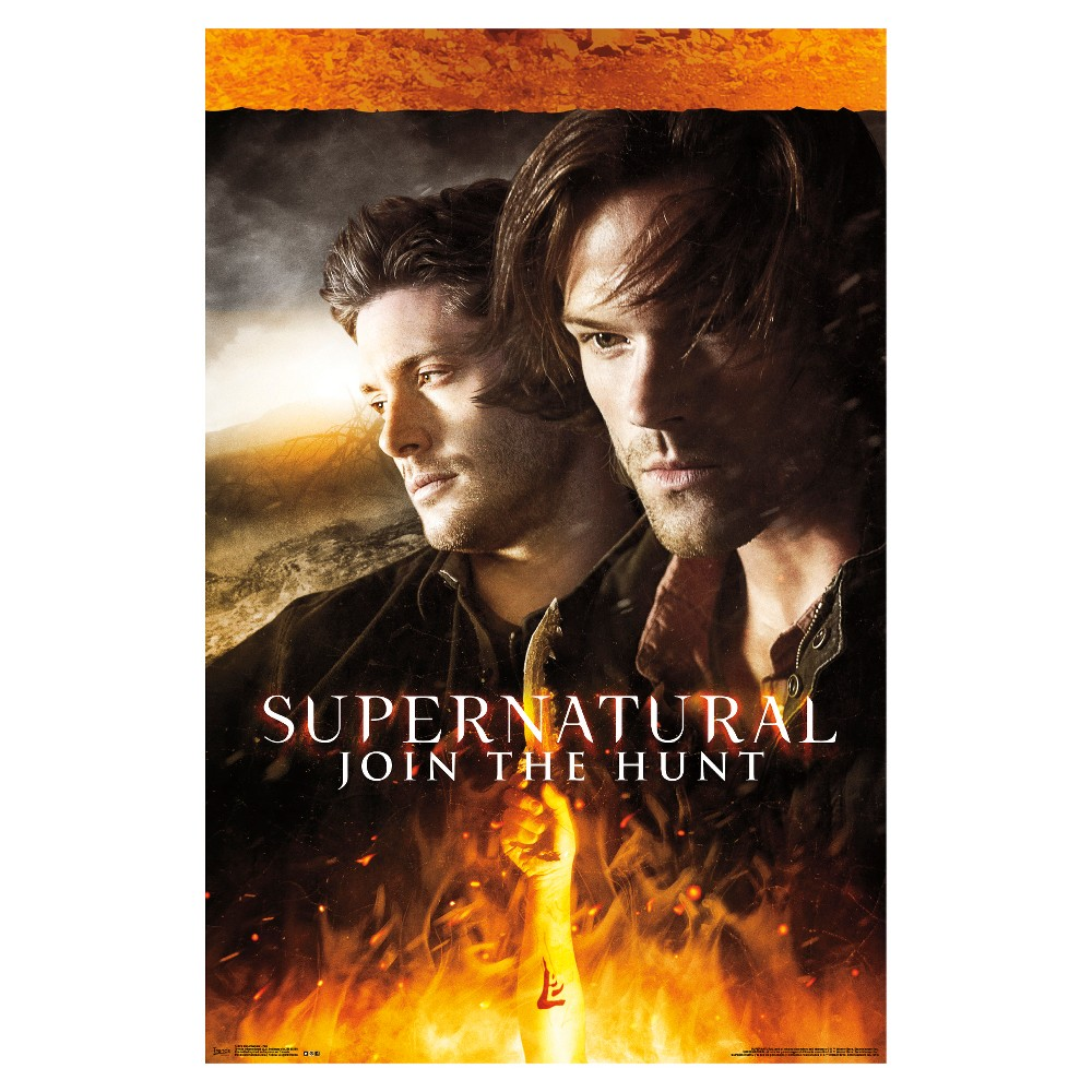 Supernatural Fire Poster 34x22 - Trends International, Multi-Colored