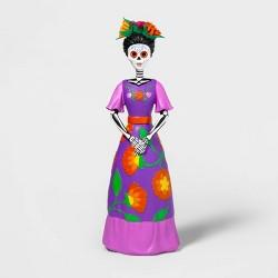 Da de Muertos Señorita Standing Decorative Figure