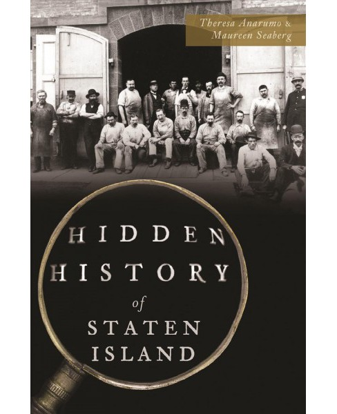 Hidden History of Staten Island -  by Theresa Anarumo & Maureen Seaberg (Paperback) - image 1 of 1