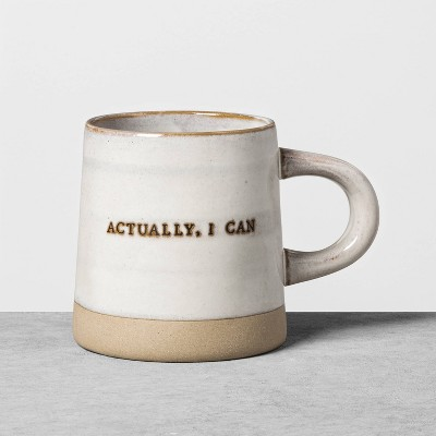 'Actually I Can' Stoneware Mug - Hearth & Hand™ with Magnolia