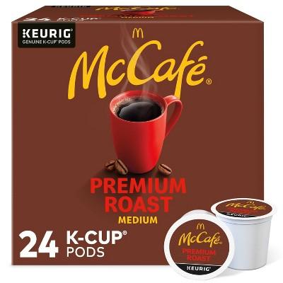 McCafe Premium Roast Keurig K-Cup Coffee Pods - Medium Roast - 24ct