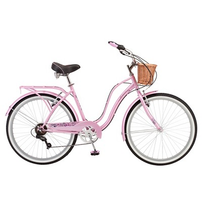 "Schwinn Women's Lulu 26"" Cruiser Bike - Pink/White"