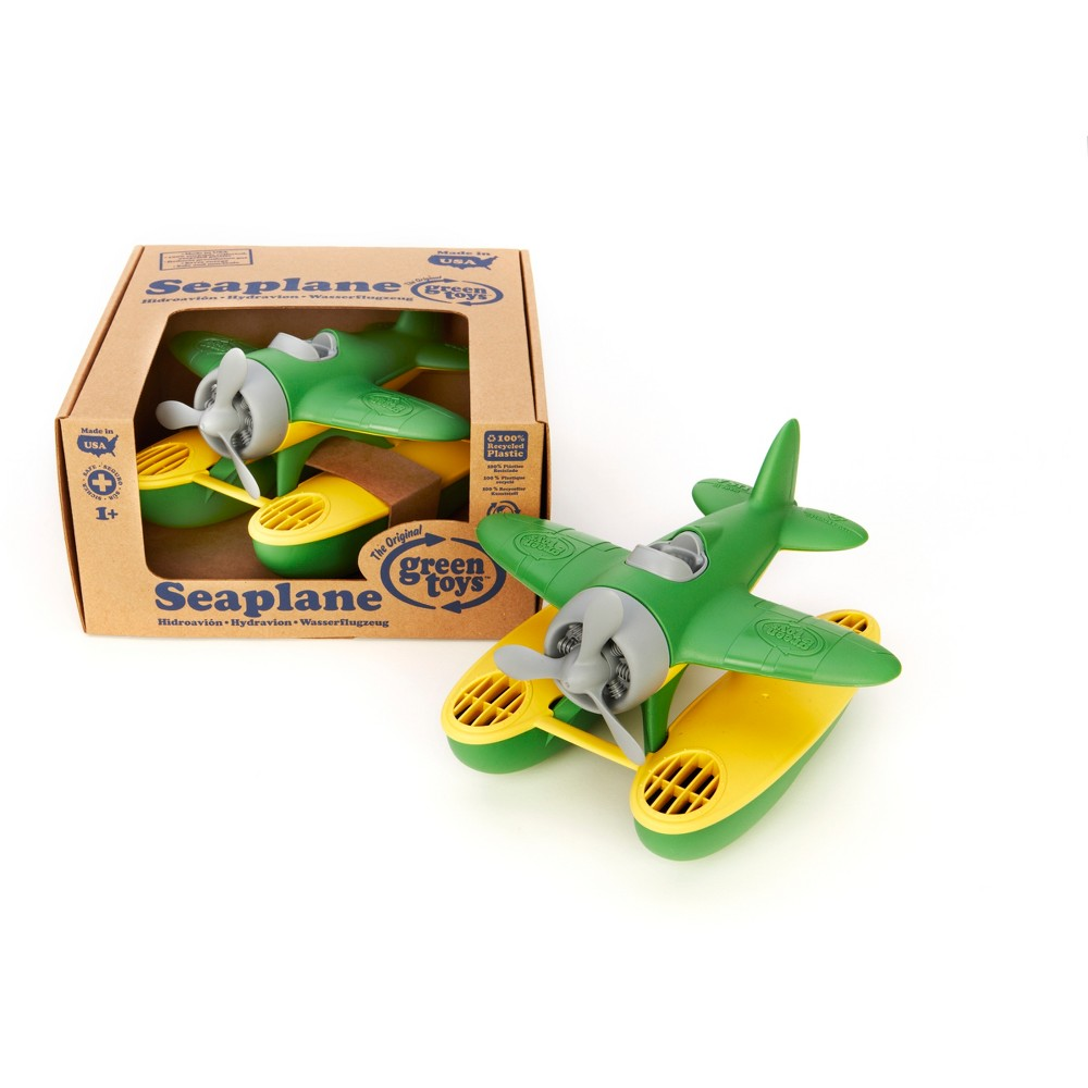 Image of Green Toys Seaplane - Green