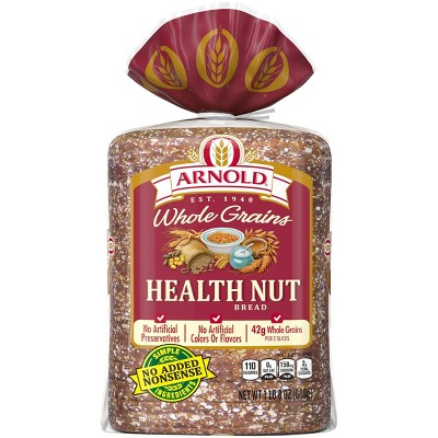 Arnold 100% Health Nut Bread - 24oz