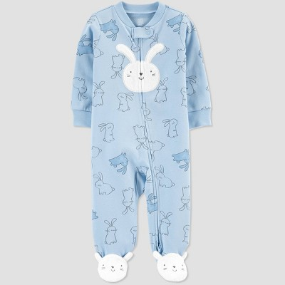 Baby Boys' Easter Bunny Sleep N' Play - Just One You® made by carter's Blue Newborn
