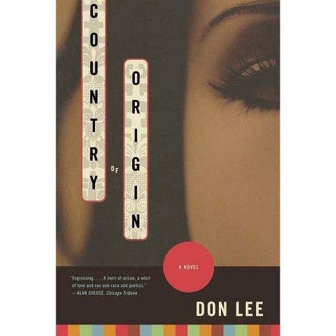 Country of Origin - by  Don Lee (Paperback) - image 1 of 1