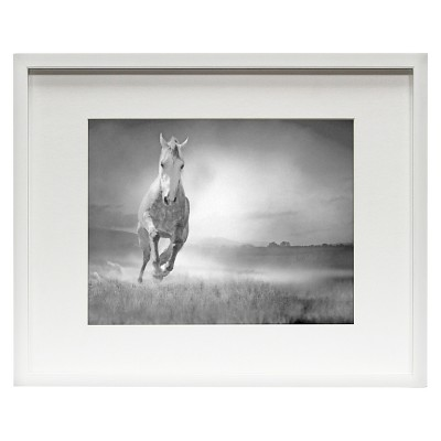 Matted Wood Frame White 11 x14  - Room Essentials™