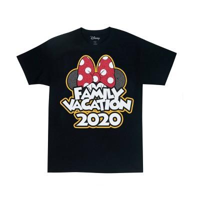 "Kids' Minnie ""Family Vacation 2020"" T-Shirt - Disney ™ - Black"