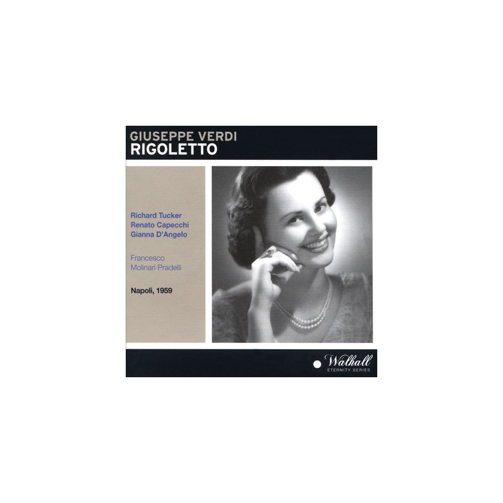 Richard Tucker - Verdi:Rigoletto (CD)