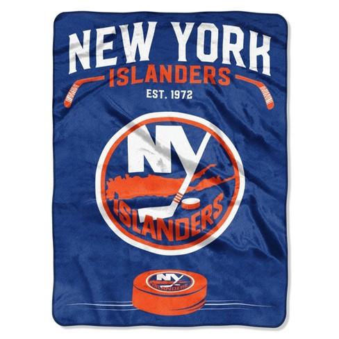 NHL New York Islanders Inspired Raschel Throw - image 1 of 3
