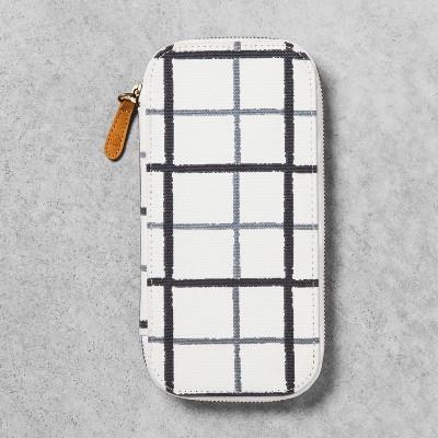 Pencil Case - Gray/Black/White - Hearth & Hand™ with Magnolia