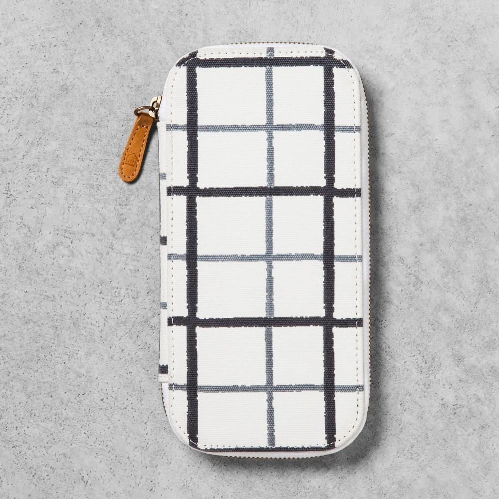 Pencil Case - Gray/Black/White - Hearth & Hand with Magnolia
