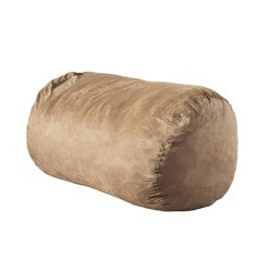 "6.5"" Asher Faux Suede Beanbag - Christopher Knight Home"