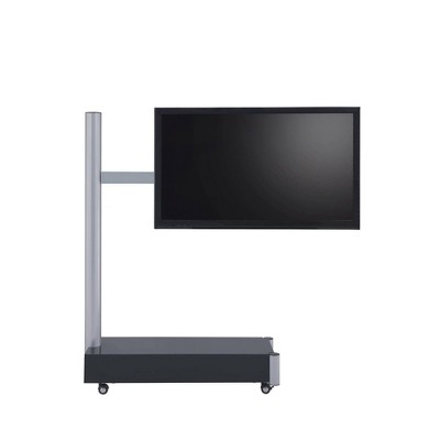 "75"" TV Stand Symphony Silver/Black - Proman Products"