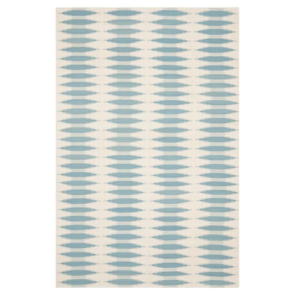 Kilim Rug - Ivory/Blue - (9'x12') - Safavieh