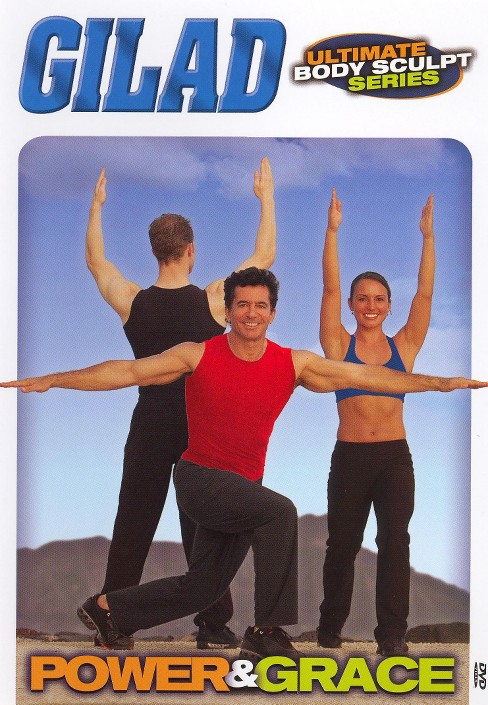 Gilad:Ultimate body sculpt power and (DVD) - image 1 of 1
