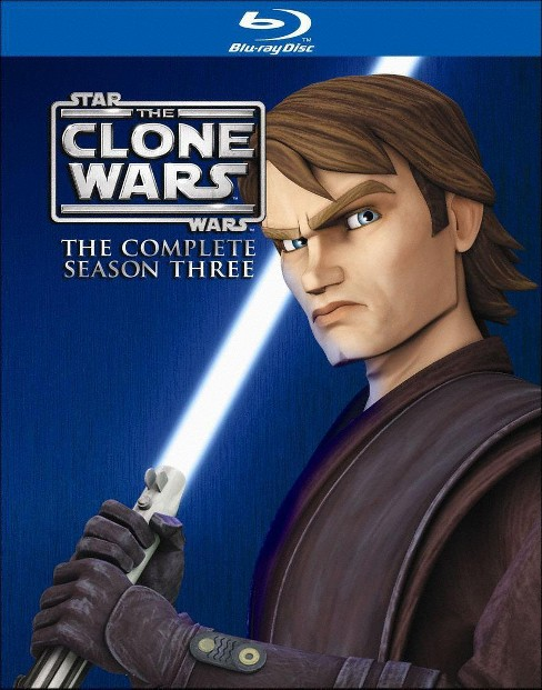 Star Wars: The Clone Wars - The Complete Season Three [3 Discs] [Blu-ray] - image 1 of 1