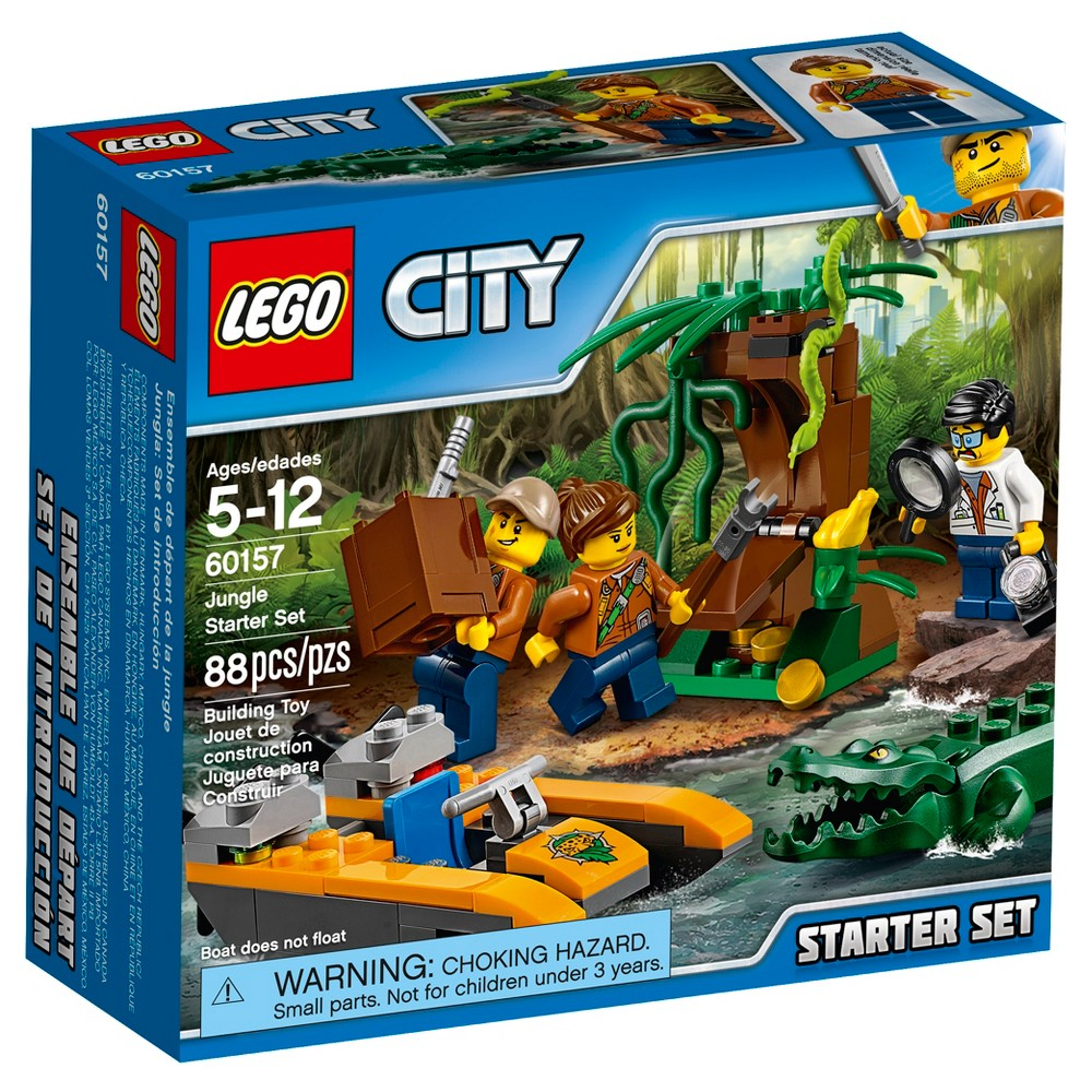 Lego City Jungle Explorers Jungle Starter Set 60157