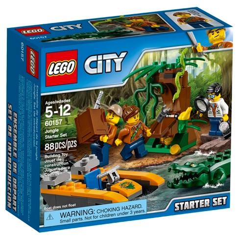 4587caeb96d5 LEGO® City Jungle Explorers Jungle Starter Set 60157 : Target