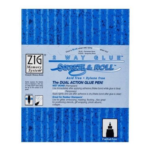 Zig 2-Way Glue Pen Bulk-Squeeze & Roll - image 1 of 1