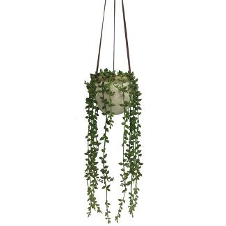 Small Artificial Hanging Plant Green - Threshold™