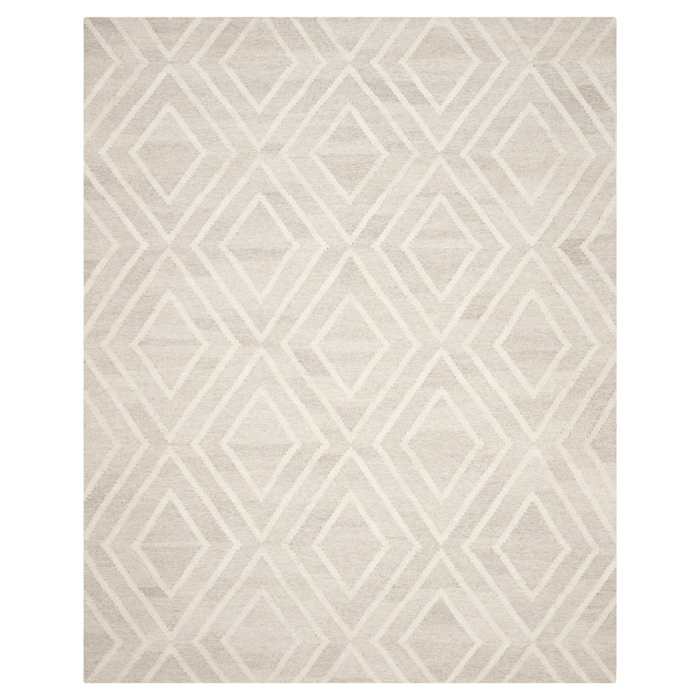 Abstract Woven Area Rug -Ivory (8' x 10') - Safavieh, Ivory