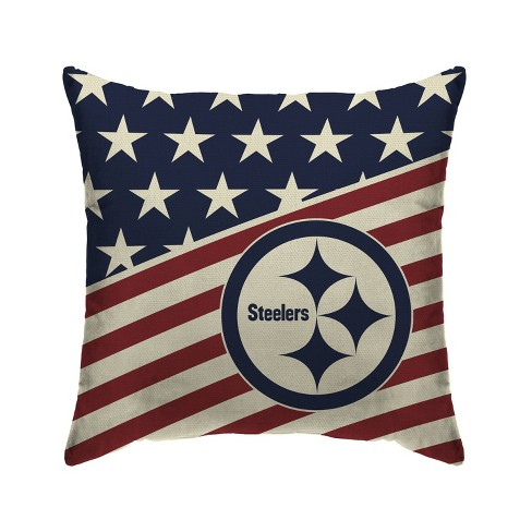 Nfl Pittsburgh Steelers Americana Decorative Throw Pillow Target