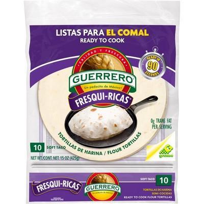 Guerrero Fresqui-Ricas Flour Tortillas - 15oz/10ct