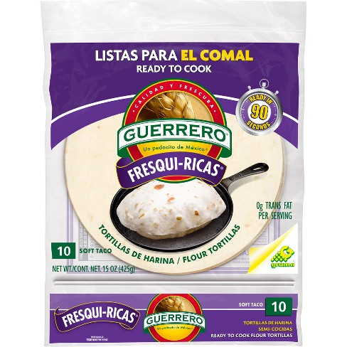 Guerrero Fresh Rich Flour Tortilla 10 ct - image 1 of 1