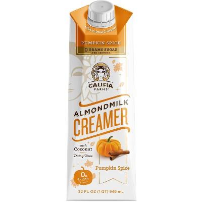 Califia Farms Dairy Free Pumpkin Spice Almondmilk Coffee Creamer  - 1qt