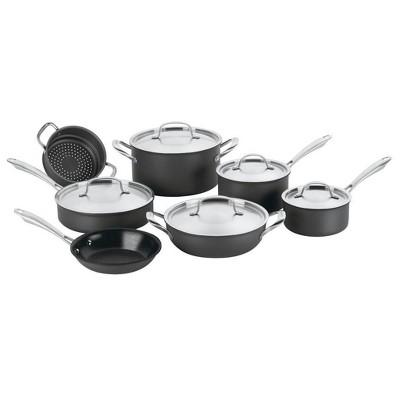 Cuisinart GreenGourmet 12pc Hard Anodized Cookware Set - GG-12