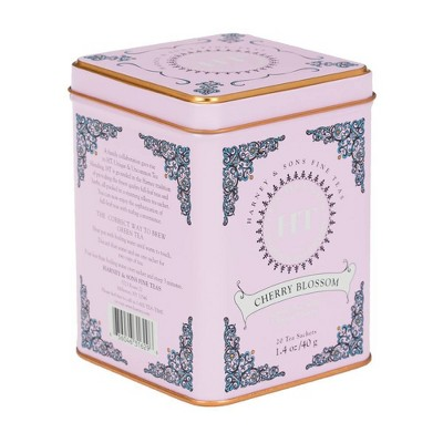 Harney & Sons Cherry Blossom Green Tea - 20ct