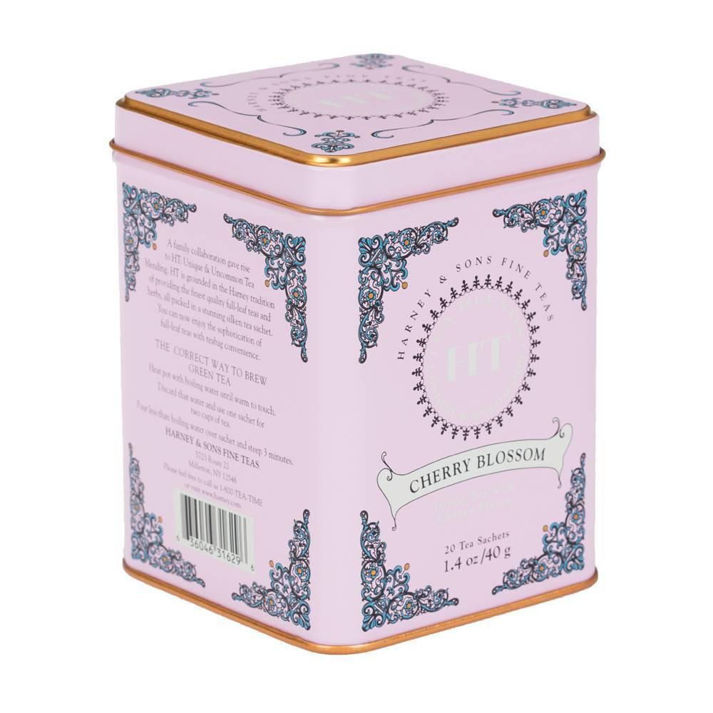 Harney 38 Sons Cherry Blossom Green Tea 20ct