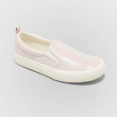 Girls' Robin Twin Gore Slip-On Sneakers - Cat & Jack™ Pink