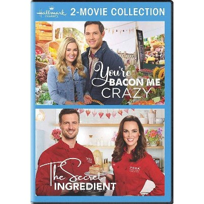 Hallmark 2-Movie Collection: You're Bacon Me Crazy / The Secret Ingredient (DVD)(2020)