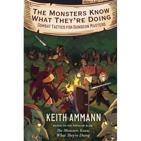 The Monsters Know What They're Doing, Volume 1 - by  Keith Ammann (Hardcover) - image 1 of 1