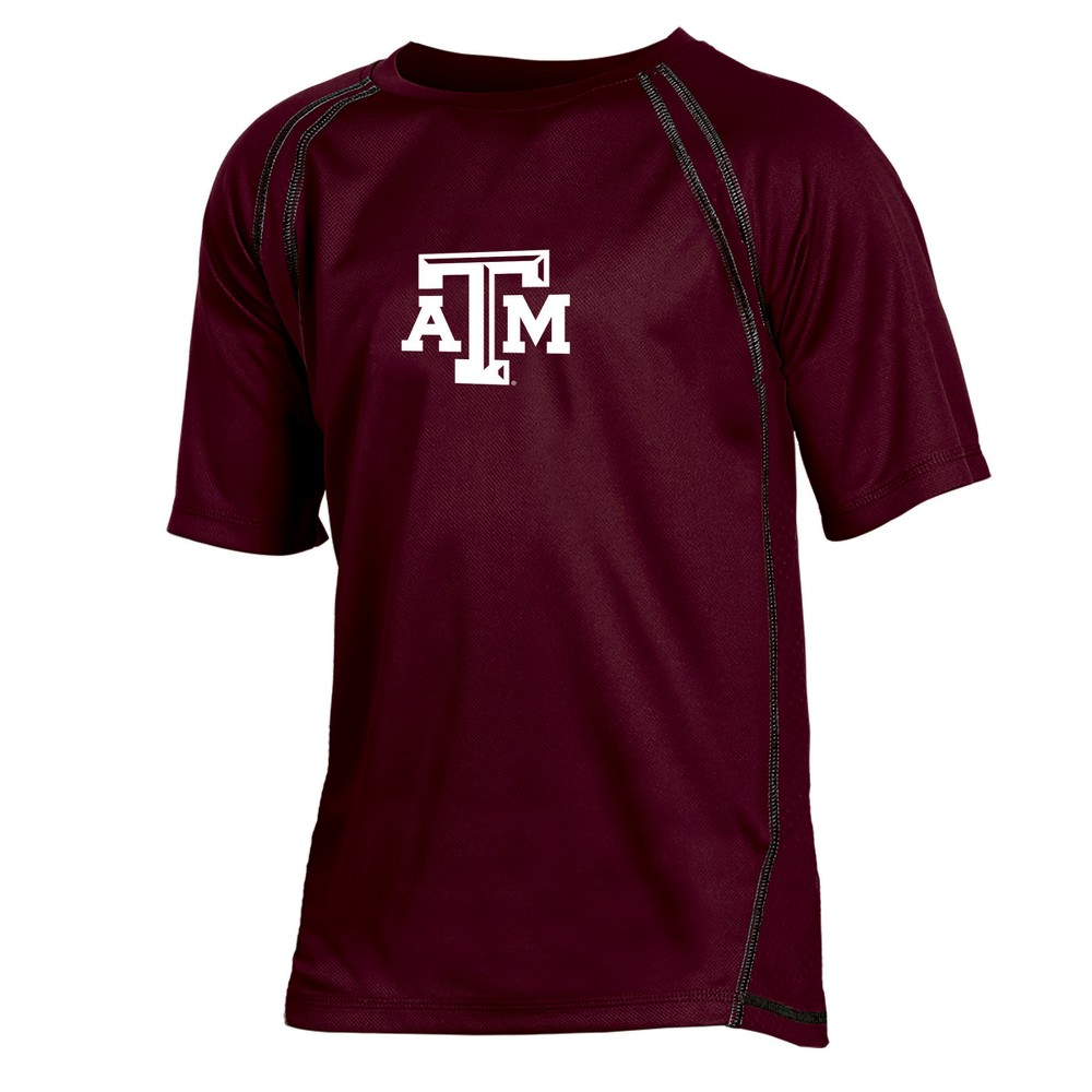 Texas A&m Aggies Boys' Impact Poly Performance T-Shirt XS, Multicolored