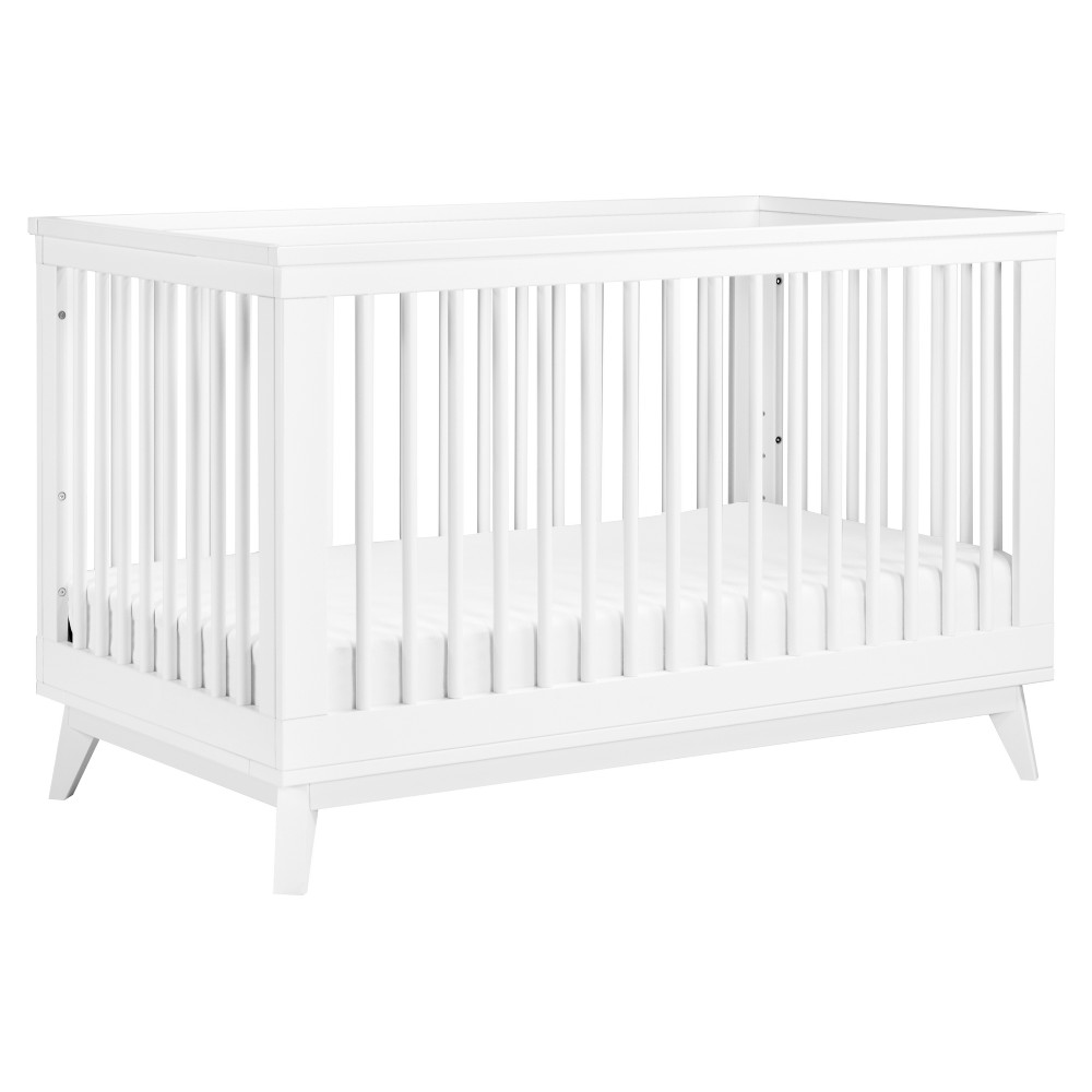 Babyletto Scoot 3-in-1 Convertible Crib - White