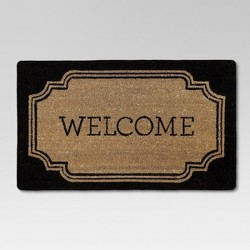 "1'6""x2'6"" Welcome Coir Doormat - Threshold™"