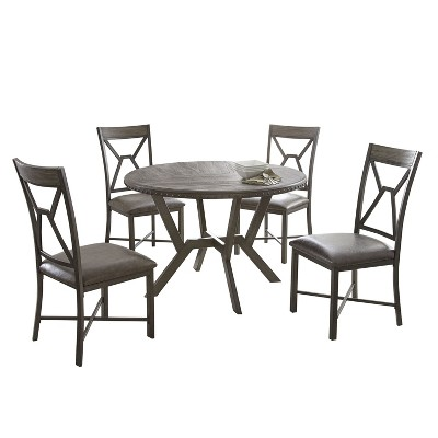 sc 1 st  Target & Alamo Round Dining Table Gray - Steve Silver : Target