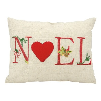 Neutral Letters Throw Pillow - Mina Victory