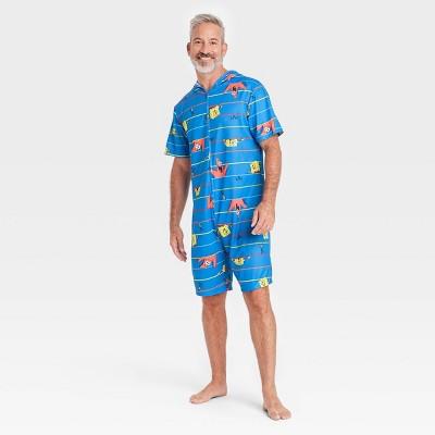Men's SpongeBob SquarePants Union Suit - Blue