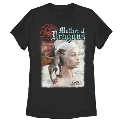 Women's Game of Thrones Daenerys Mother of Dragons T-Shirt