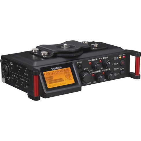 Tascam DR-70D 4-Channel Audio Recording Device for DSLR and Video Cameras - image 1 of 4