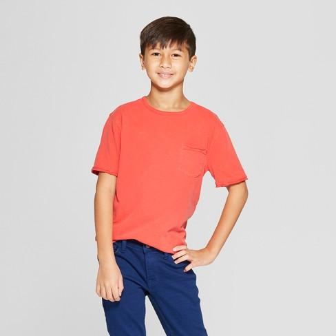 Boys' Burnout Wash Short Sleeve T-Shirt - Cat & Jack™ - image 1 of 3