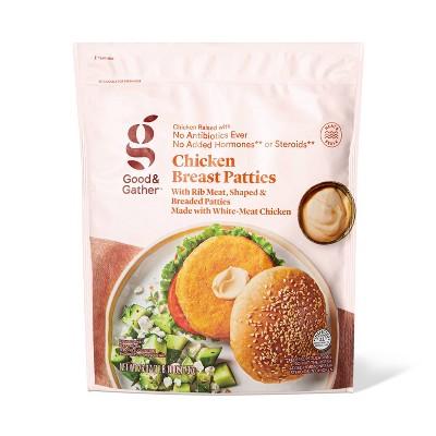 Chicken Breast Patties - Frozen - 26oz - Good & Gather™